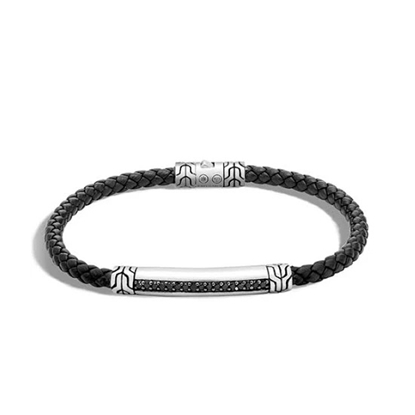 Picture of John Hardy Classic Chain Bracelet - Black w/ Black Sapphire