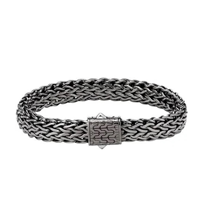 Picture of John Hardy Men's Classic Chain Bracelet - Matte Black Rhodium