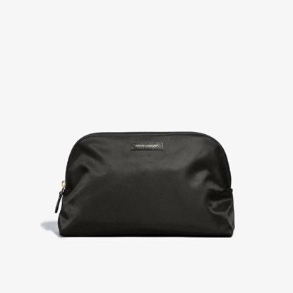 Picture of Hook & Albert Women's Fabric Toiletry Bag - Black
