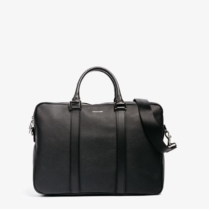 Picture of Hook & Albert Leather Formal Briefcase - Black