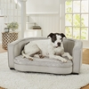Picture of Enchanted Home Pet Jules Sofa - Silver