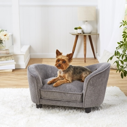 Picture of Enchanted Home Pet Snuggle Pet Sofa - Abstract Grey