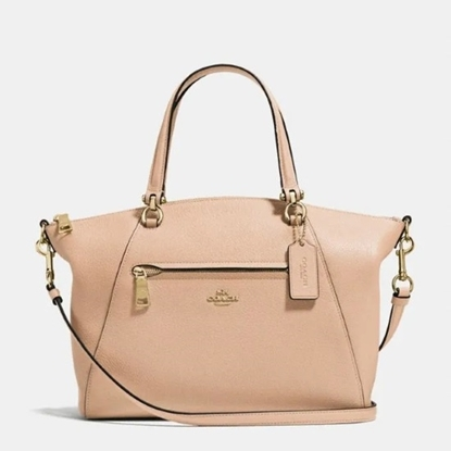 Picture of Coach Prairie Satchel - Beechwood/Gold
