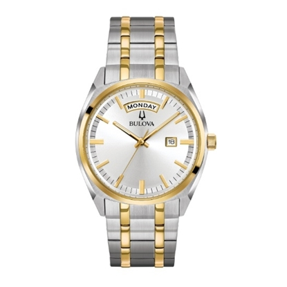 Picture of Bulova Men's Classic Two-Tone Stainless Steel Watch