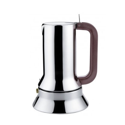 Picture of Alessi 10-Cup Espresso Coffee Maker with Steel Bottom