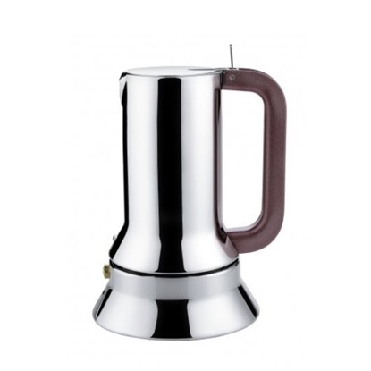 Picture of Alessi 6-Cup Espresso Coffee Maker with Steel Bottom