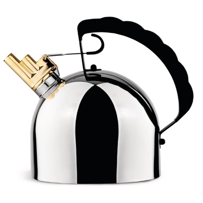 Picture of Alessi Water Kettle with Steel Bottom