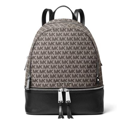 Picture of Michael Kors Rhea Zip Signature Medium Backpack