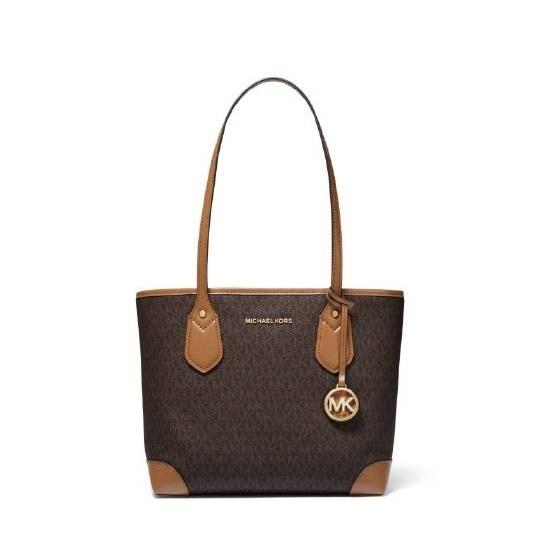 Picture of Michael Kors Eva Signature Small Tote