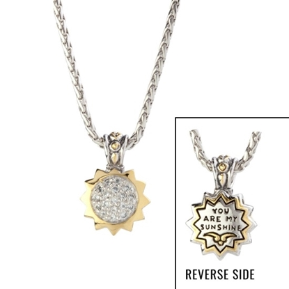 Picture of John Medeiros You Are My Sunshine Star Slider Necklace