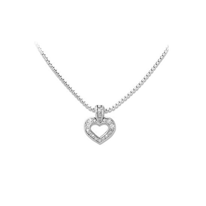 Picture of John Medeiros Two Hearts Inseparable Slider with Chain