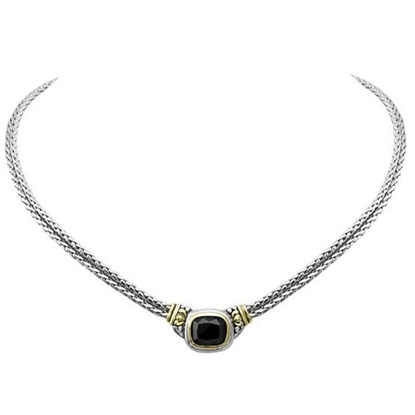 Picture of John Medeiros Nouveau Double Strand Necklace - Black