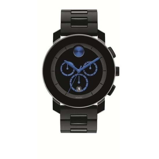 Picture of Movado® Men's Black Chrono Watch