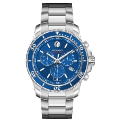 Picture of Movado® Men's Series 800 Chrono - Blue Dial Watch