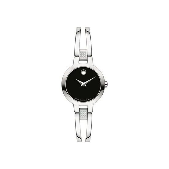 Picture of Movado® Women's Amorosa Watch - Black Dial with Diamonds