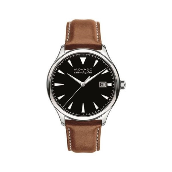 Picture of Men's Heritage Leather Strap Watch