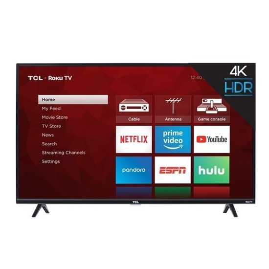 Picture of 50-inch 4K Ultra HD Roku TV
