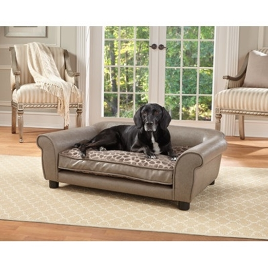 Picture of Enchanted Home Pet Rockwell Sofa Bed - Pewter