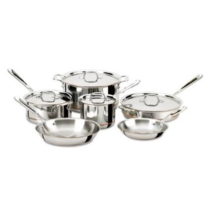 Picture of All-Clad Copper Core 10-Piece Cookware Set
