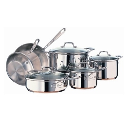 Picture of Emerilware by All-Clad 14PC Stainless Steel & Copper Cookware
