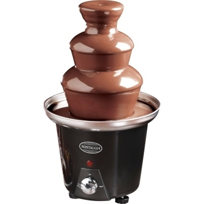 Picture of Nostalgia Electrics Mini Chocolate Fondue Fountain - Black