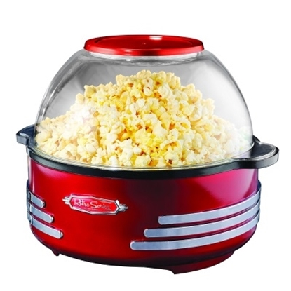 Picture of Nostalgia Electrics Retro Stirring Popcorn Maker - Red