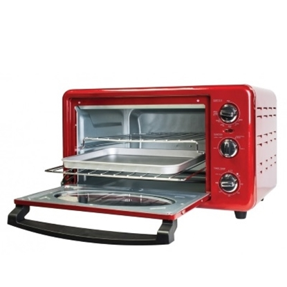 Picture of Nostalgia Electrics 50's Style 6-Slice Toaster Oven- Retro Red