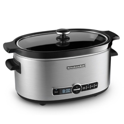 Picture of KitchenAid® 6-Quart Slow Cooker - Stainless Steel