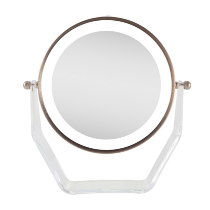 Picture of Zadro™ 1X/8X LED Swivel Mirror - Rose Gold