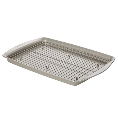 Picture of Rachael Ray Oversized Baking Pan with Rack