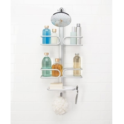 Picture of OXO Aluminum Three-Tier Shower Caddy
