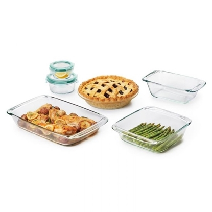 Picture of OXO Good Grips 8-Piece Glass Bake, Serve & Store Set