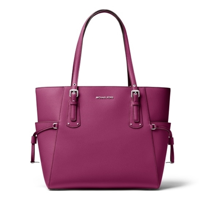 Picture of Michael Kors Voyager E/W Tote - Garnet