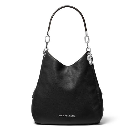 Picture of Michael Kors Lillie Large Chain Shoulder Tote - Black