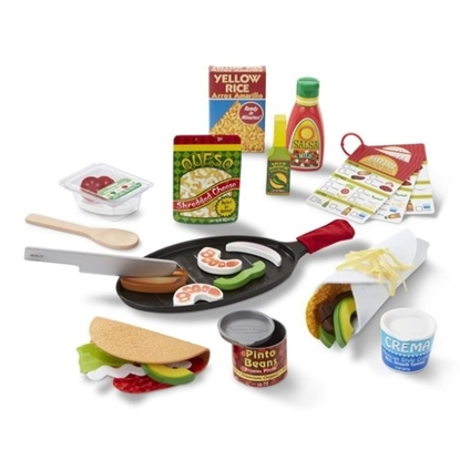 Picture of Melissa & Doug® Fill & Fold Taco & Tortilla Set