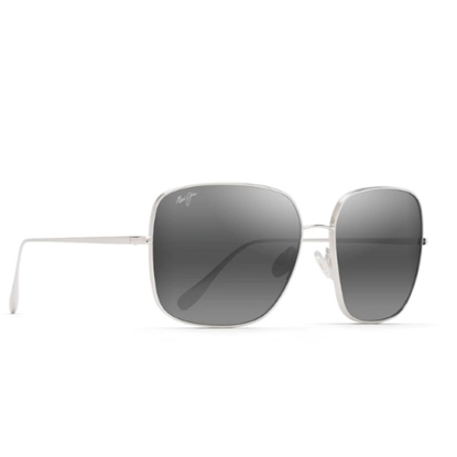 Picture of Maui Jim Triton - Silver with Grey Lens