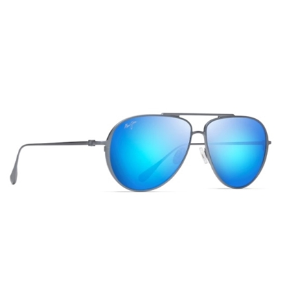 Picture of Maui Jim Shallows - Dove Grey with Blue Hawaii Lens