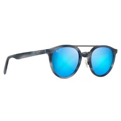 Picture of Maui Jim Sunny Days - Blue Horn with Blue Hawaii Lens