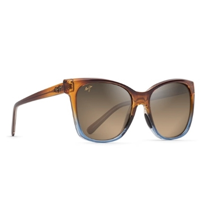 Picture of Maui Jim Alekona - Caramel/Blue with Bronze Lens