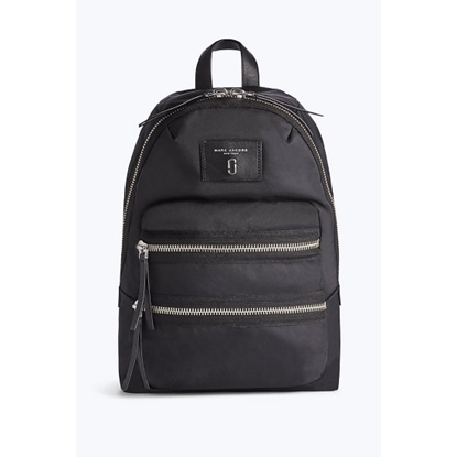Picture of Marc Jacobs Nylon Biker Backpack - Black