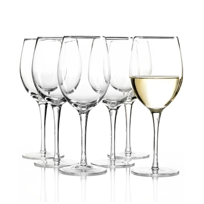 Picture of Lenox Tuscany Classic White Wine Glasses - Set of 6
