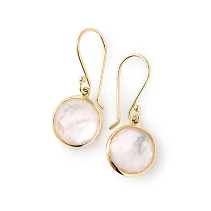 Picture of Ippolita 18K Lollipop Mini Drop Earrings in Mother-of-Pearl