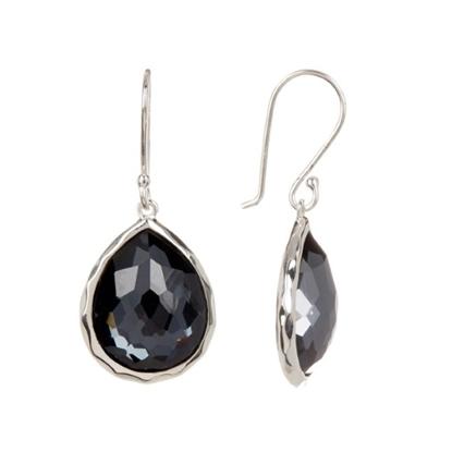 Picture of Ippolita Rock Candy Mini Teardrop Earrings - Hematite