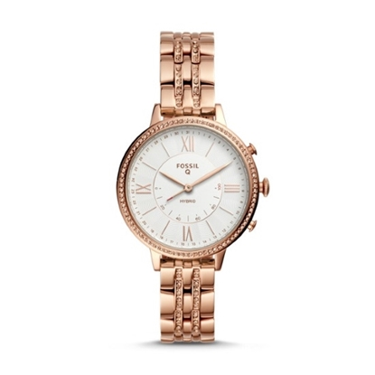 Picture of Fossil Jacqueline Rose Gold-Tone Hybrid Smartwatch