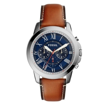 Picture of Fossil Grant Chrono Watch with Light Brown Leather Strap