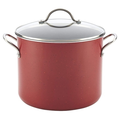 Picture of Farberware 12-Qt. Covered Stockpot w/ Stainless Steel Handles