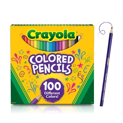 Picture of Crayola® Colored Pencils - 100-Count