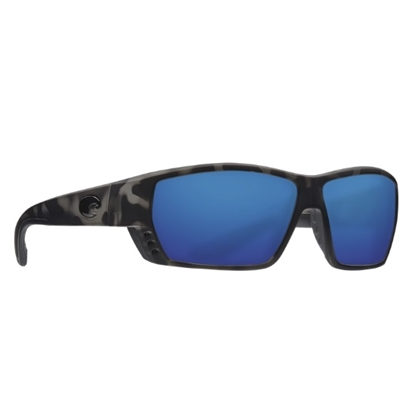 Picture of Costa Tuna Alley - Matte Tiger Shark with Blue Mirror Lens