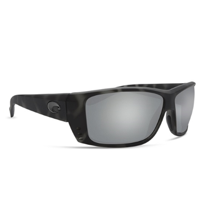 Picture of Costa Cat Cay - Matte Tiger Shark with Gray Silver Mirror Lens