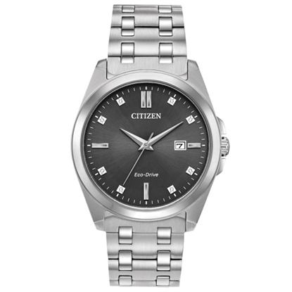 Picture of Citizen Men's Corso Stainless Steel Watch with Black Dial